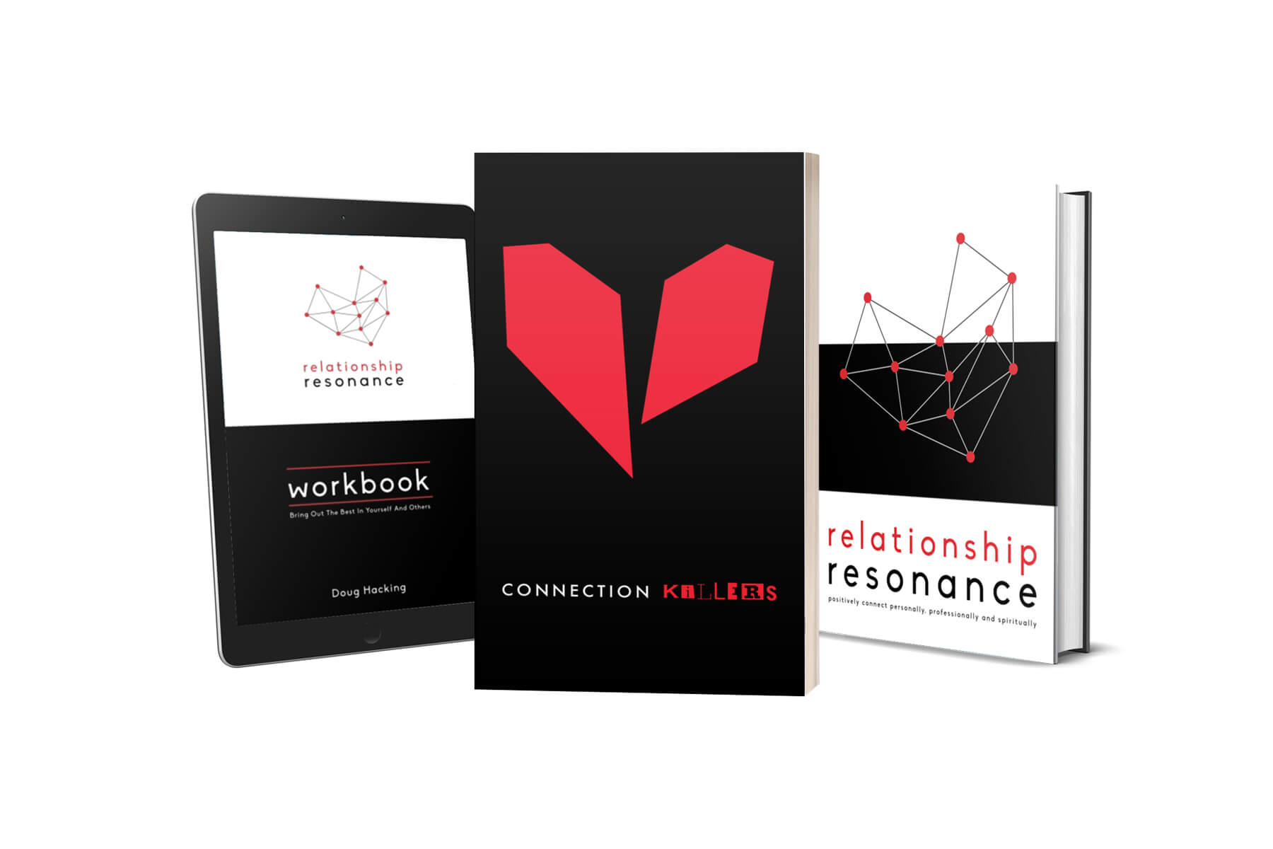 Set 1: Relationship Resonance Soft Cover & Workbook + Connection Killers Soft Cover